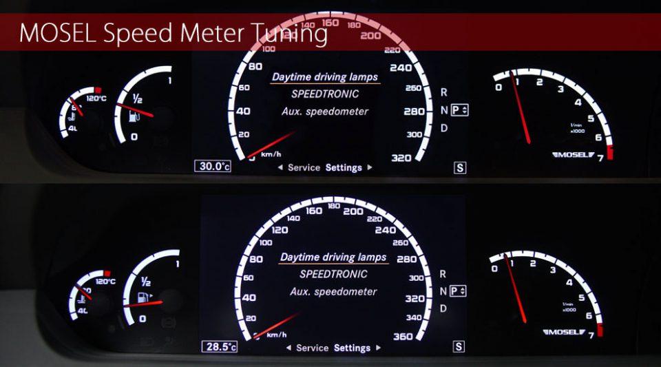 MOSEL Speed Meter Tuning