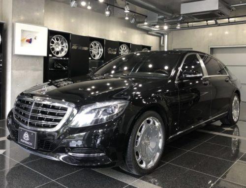 NEW CAR MAYBACH560 東京M企業納車完了!!