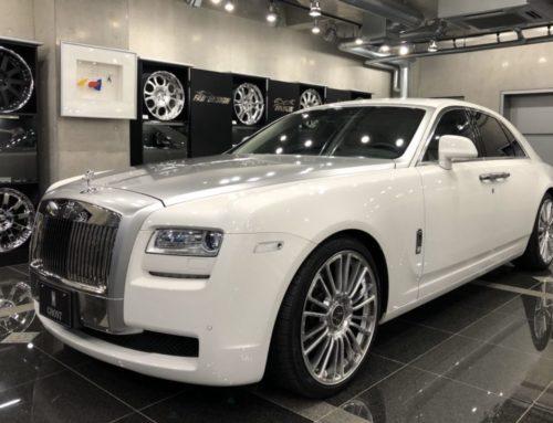 Rolls-Royce GHOST ファントム仕様 MANSORYホイール